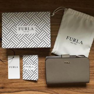 フルラ(Furla)の新品!フルラ 二つ折り財布 グレー(財布)