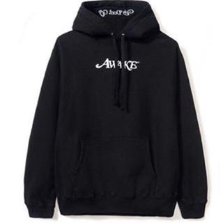アウェイク(AWAKE)のawake gdc girls don't cry logo hoodie 黒M(パーカー)