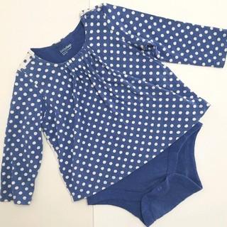 ベビーギャップ(babyGAP)のbaby Gap  長袖ロンパース 80サイズ(ロンパース)