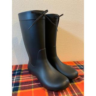 クロックス(crocs)のクロックス 長靴 レインブーツ 黒(レインブーツ/長靴)