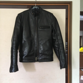 バンソン(VANSON)のケン様専用 シングルライダースジャケット 革製 VANSON32(ライダースジャケット)