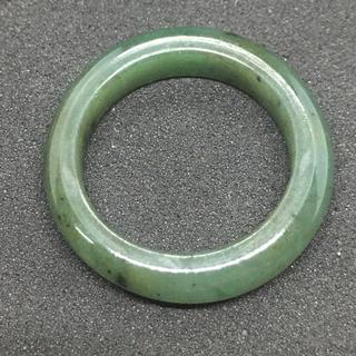 ヒスイ 翡翠 天然石 リング 指輪 10号 送料無料 ミャンマー産 2(リング(指輪))