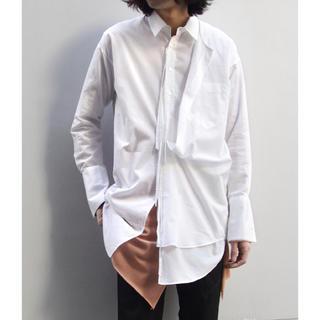 Yohji Yamamoto - 定価34100円!BED J.W. FORD (ベッドフォード) ケープシャツ白