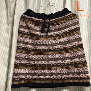 レプシィム(LEPSIM)のLEPSIM ジャガードスカート(ひざ丈スカート)