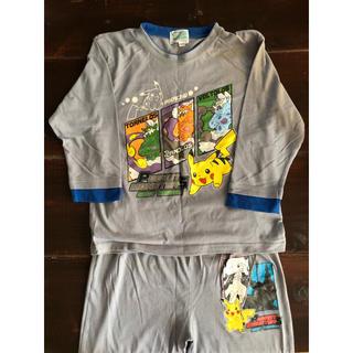 ポケモン(ポケモン)のポケモンパジャマ(120)と半袖シャツ(120)(パジャマ)