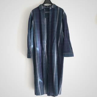 ムルーア(MURUA)のMURUA チェックロングシャツ(シャツ/ブラウス(長袖/七分))