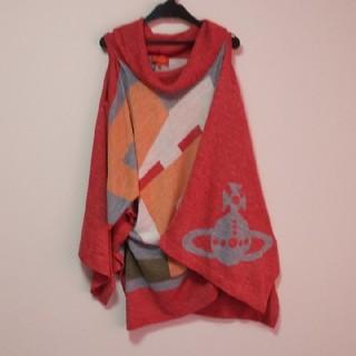 Vivienne Westwood - 【美品】ヴィヴィアン/タートルネック、変形デザイン、BIGワンピ