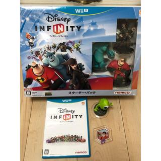 ディズニー(Disney)のマイクとパワーディスク付き☆ディズニー インフィニティ スターター・パック(家庭用ゲームソフト)