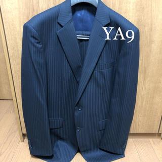 2着目半額!【新品サンプル品】2パンツスーツ YA9 紺 ネイビー ソロテックス(セットアップ)