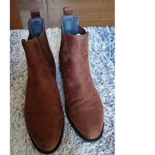 UNIQLO サイドゴア ブーツ スエード(ブーツ)