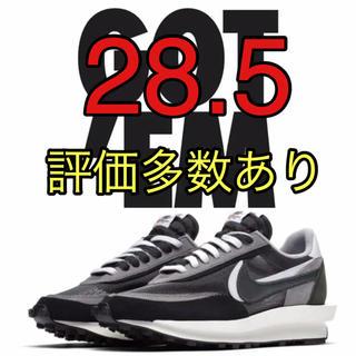 ナイキ(NIKE)のNIKE sacai サカイ LD waffle ワッフル 黒 28.5(スニーカー)