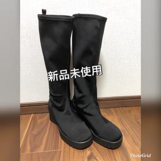 ストレッチ素材ブーツ(ブーツ)