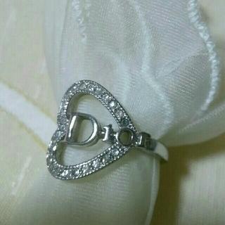 クリスチャンディオール(Christian Dior)のクリスチャン ディオール ハートリング(リング(指輪))