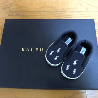 Ralph Lauren - 【ほぼ未使用】Ralph Lauren スリッポン(13.0㎝)