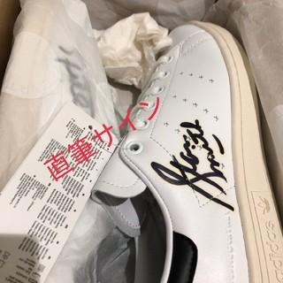 アディダス(adidas)のスタンスミス ステラマッカートニー 直筆サイン 23cm(スニーカー)