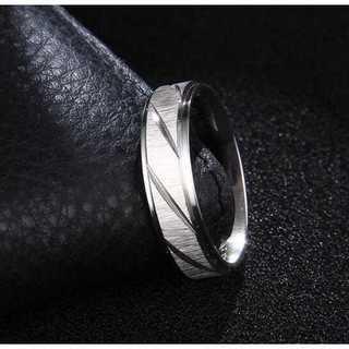 シルバーカラーのフロストトリング (シルバー)  サイズ:20号(リング(指輪))