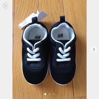 H&M - H&M キッズ こども 靴 スニーカー 12 12.5 新品 ファーストシューズ