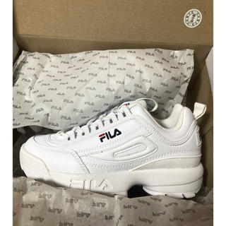 フィラ(FILA)のFILA ホワイトスニーカー(スニーカー)