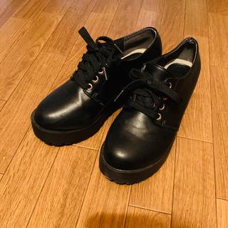 グレイル(GRL)のGRL厚底レースアップルシューズ(ローファー/革靴)