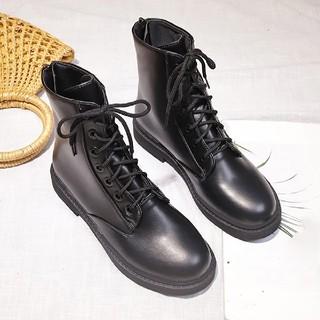 ショートブーツ レディース靴 ワークブーツ 厚底 靴 レースアップ バックジップ(ブーツ)
