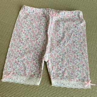 女の子 花柄 半ズボン 100cm(パンツ/スパッツ)