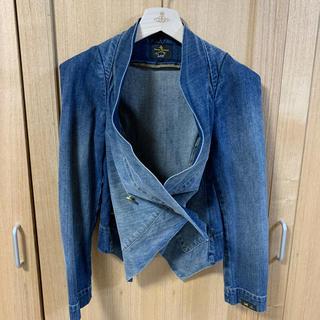 ヴィヴィアンウエストウッド(Vivienne Westwood)のVivienne Westwood デニム ジャケット(Gジャン/デニムジャケット)
