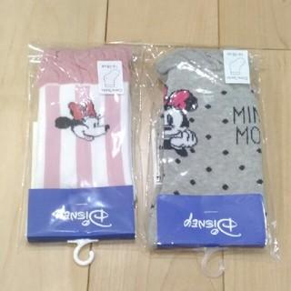 ampersand - アンパサンド ミニーちゃん 靴下 16-18cm 2足
