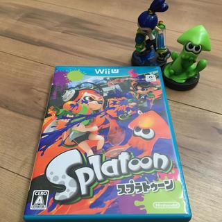 ウィーユー(Wii U)のSplatoon(スプラトゥーン)(家庭用ゲームソフト)