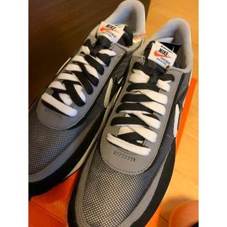 "NIKE - Sacai × Nike LDWaffle ""Black""   27.5cm"