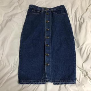 アメリカンアパレル(American Apparel)のAmerican apparel デニムタイトスカート(ひざ丈スカート)