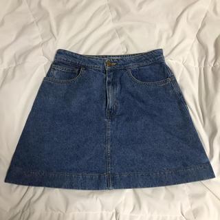 アメリカンアパレル(American Apparel)のAmerican apparel デニムスカート(ミニスカート)