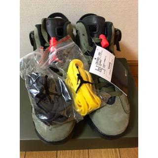 ナイキ(NIKE)の23cm NIKE AIR JORDAN 6 TRAVIS SCOTT(スニーカー)