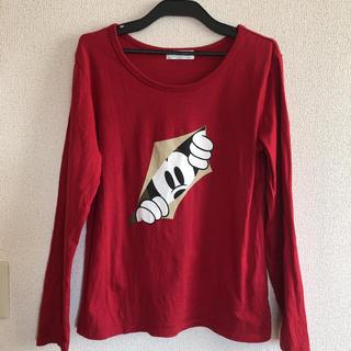 ベルメゾン(ベルメゾン)のミッキー  長袖Tシャツ(Tシャツ(長袖/七分))