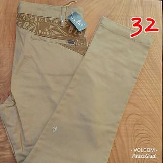 volcom - VOLCOM Stone Art Slim Fit Chino 32 KHA