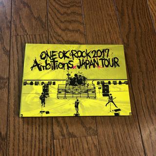 """ワンオクロック(ONE OK ROCK)のLIVE DVD「ONE OK ROCK 2017 """"Ambitions"""" JA(ミュージック)"""
