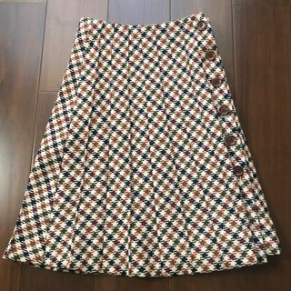 クミキョク(kumikyoku(組曲))の組曲 小さいサイズ S1   プリーツスカート(ひざ丈スカート)