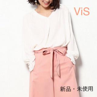 ヴィス(ViS)のViS リボンタイ付きブラウス(シャツ/ブラウス(長袖/七分))