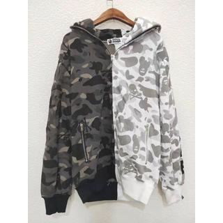 人気 Bape x Neighborhood Split Camo Shark
