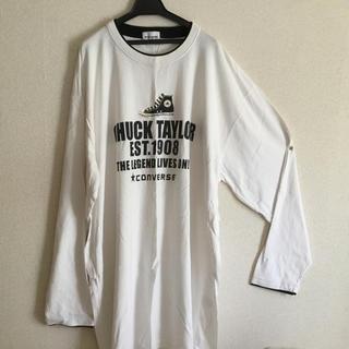 コンバース(CONVERSE)のコンバース Tシャツbigサイズ❗️新品未使用❗️(Tシャツ/カットソー(七分/長袖))