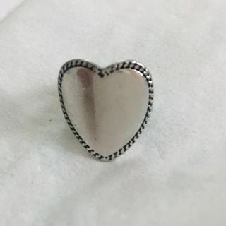 シルバー ハートリング(リング(指輪))