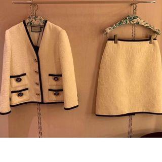 グッチ(Gucci)のGUCCI ジャケット+スカート 二点 セット(その他)