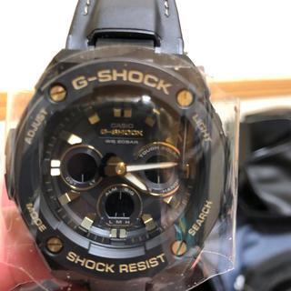 ジーショック(G-SHOCK)のG-STEEL. GST-S300GL-1ADR(輸入版、金色)(腕時計(アナログ))