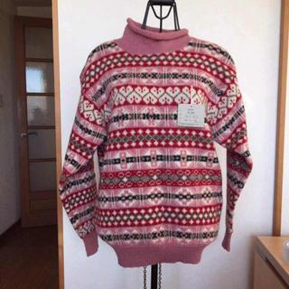 花柄ウールセーター(ニット/セーター)