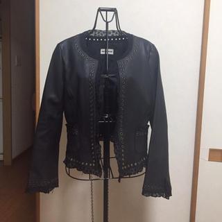 羊皮ジャケット(ライダースジャケット)