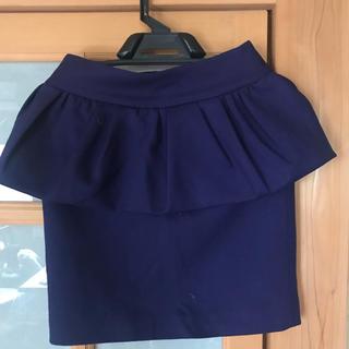 ニジュウサンク(23区)の23区×RITA コラボ ヘプラムスカート(ミニスカート)
