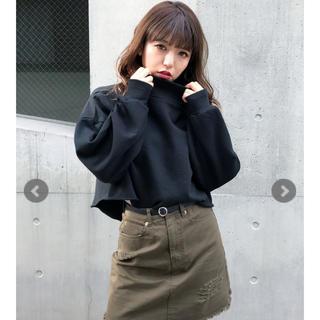 GYDA - mink tokyo ハイネックショート TOPS