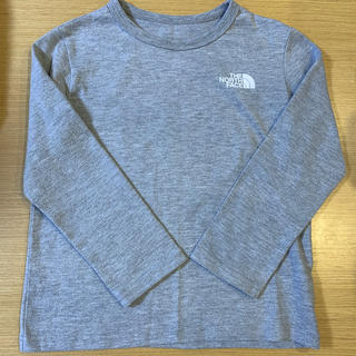 ザノースフェイス(THE NORTH FACE)のノースフェイス  キッズ 長袖 ロングTシャツ120(Tシャツ/カットソー)