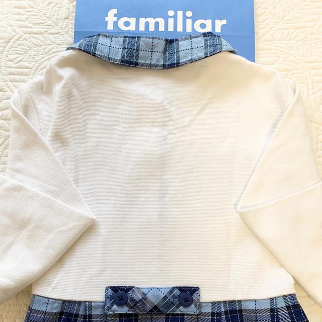 familiar(ファミリア)のお値下げ ファミリア  familiar ワンピース 120 美品 キッズ/ベビー/マタニティのキッズ服 女の子用(90cm~)(ワンピース)の商品写真