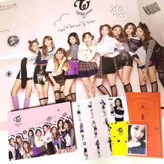 ポスター付き❤️ TWICE coaster LANE2 B アルバム CD
