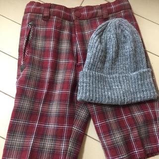 コムサイズム(COMME CA ISM)の90cm 男の子 コムサ ズボン 帽子セット(パンツ/スパッツ)